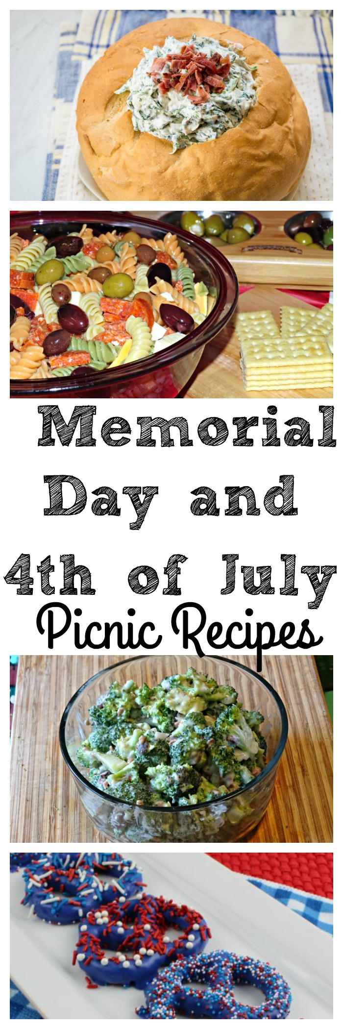 Are you looking for Picnic Recipes? These are some yummy recipes to try for Memorial Day, 4th of July or just any time you are headed to a get together.