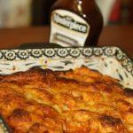 BBQ Chicken Pizza Pull Apart Bread