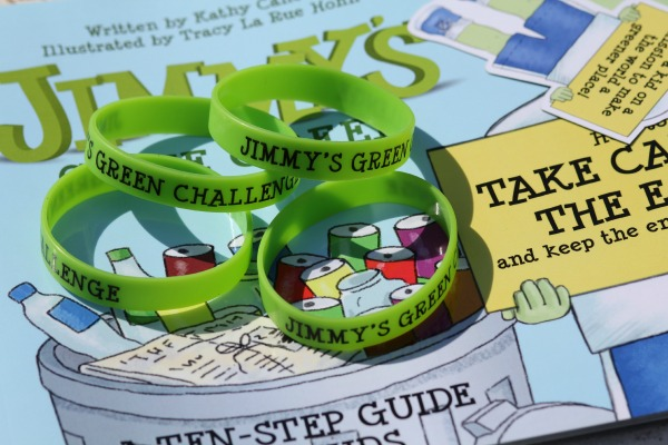 Go Green - Jimmys Gone Green Jimmy's Green Challenge with bracelets