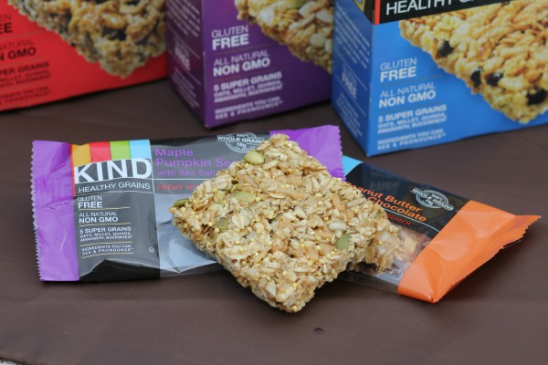 Kind Healthy Grains- Snacks for a road trip