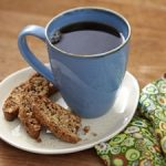 Chocolate, Almond and Wheat Germ Biscotti Recipe