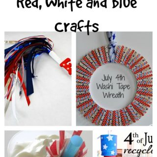 25 Red, White and Blue Crafts