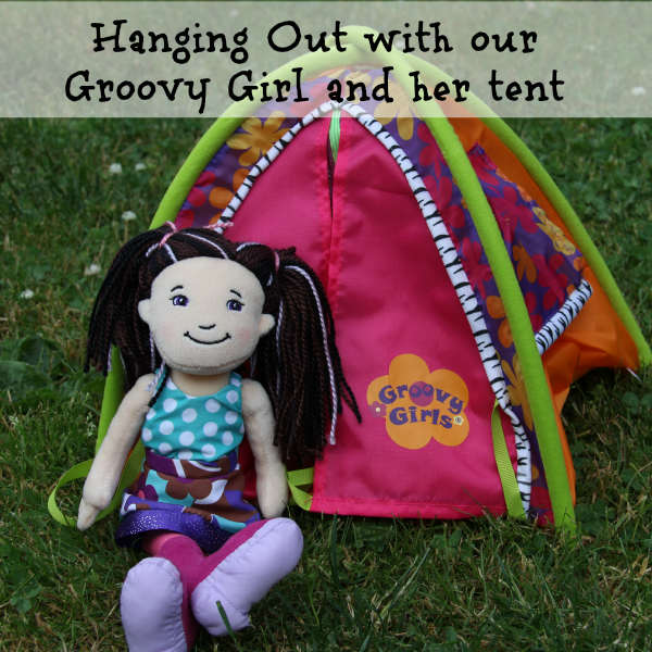 Groovy Girl Doll With Her Doll and tent