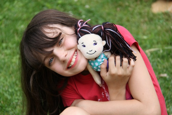 Serenity and her groovy Girl Doll