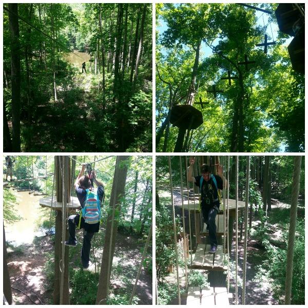 Ziplining at Go Apes-3