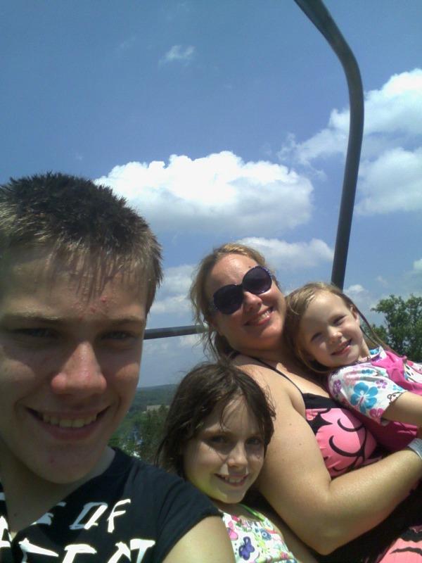 Making Memories at CamelBeach water park- Sky Ride