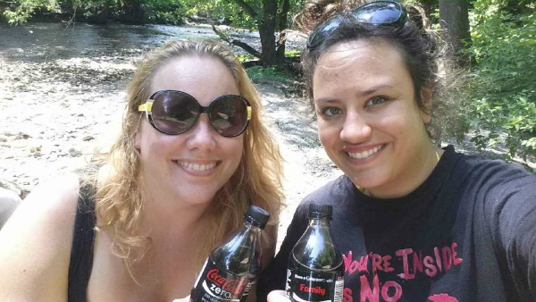 Sharing a Coke with a friend- #ShareItForward #CBias #Shop