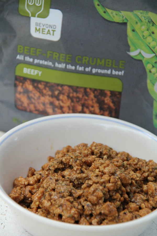 Beyond Meat Beef Crumbles crumbles