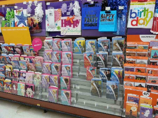 Celebrating with my girl in a BIG way Cards for Kids at Walmart