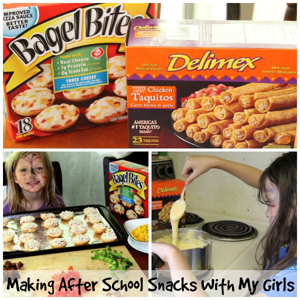 Making #AfterSchoolSnacks with my girls #CBias #Shop