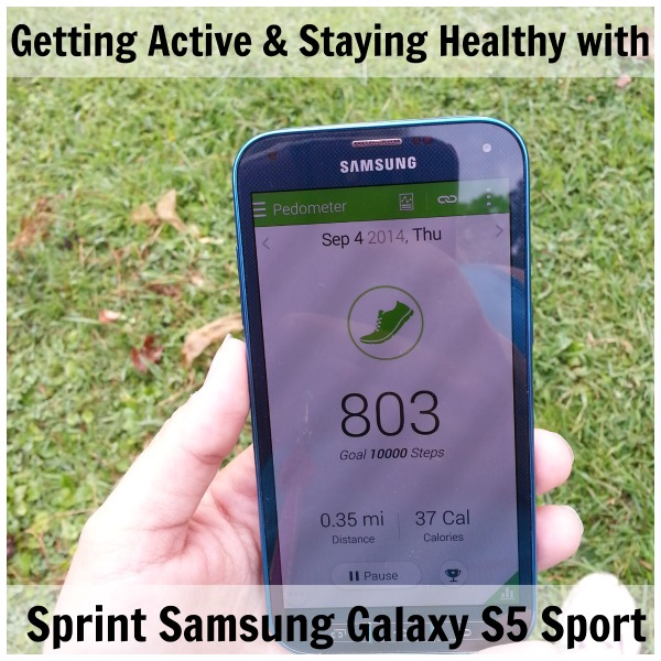 Getting active with  Sprint Samsung Galaxy S5 Sport
