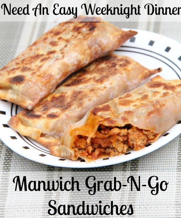 Need an easy weeknight Dinner- Grab and Go Sanwiches