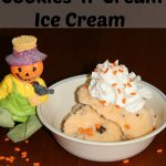 Creamsicle Cookies N Cream Ice cream – Perfect for a Halloween Treat