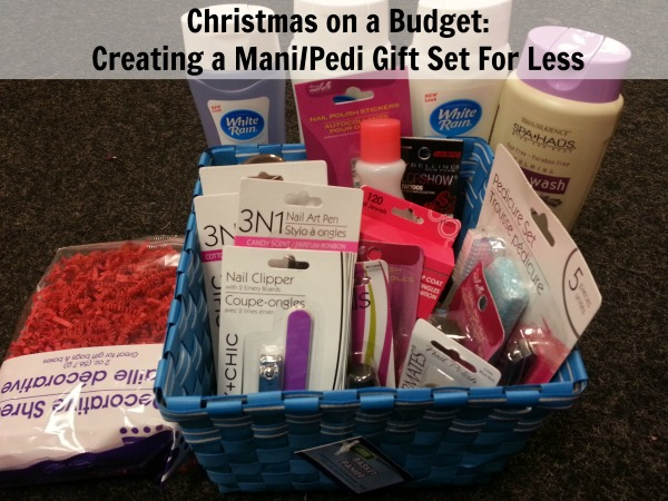 Creating a ManiPedi Gift Set For Less