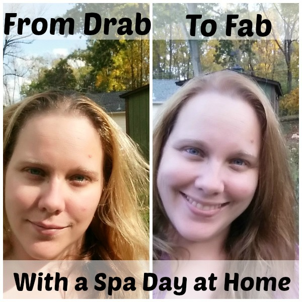 From Drab to Fab- Spa Day at Home