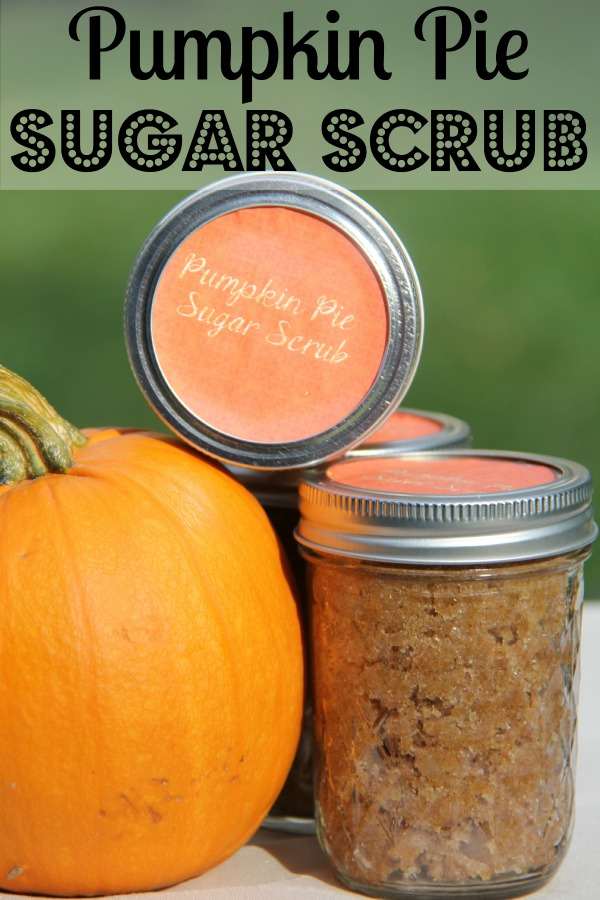 Who doesn't love a good sugar scrub? It can make you skin soft and smells great. This simple DIY Pumpkin Pie Sugar Scrub you make at home is the perfect addition to your skin care routine. It is also a great gift idea.