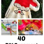 40 DIY Christmas Ornaments