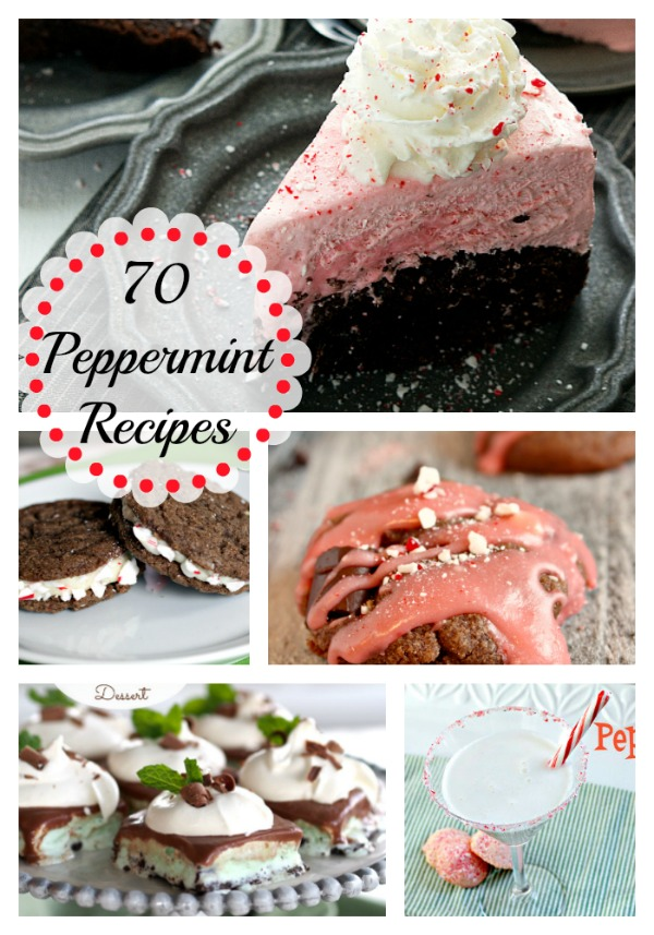 Love peppermint? I have gathered some of the tastiest, most delicious peppermint recipes. Here are 70 peppermint recipes that are perfect for Christmas.