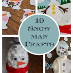 10 Snowman crafts perfect for a snowy day