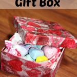 DIY Valentine Craft- Gift Box