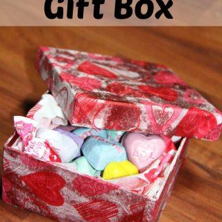 DIY Valentine Craft- Gift Box