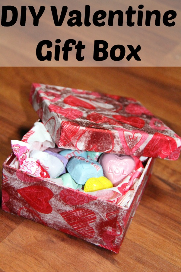 DIY Valentine Gift Box