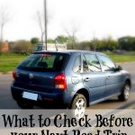 What to Check Before your Next Road Trip