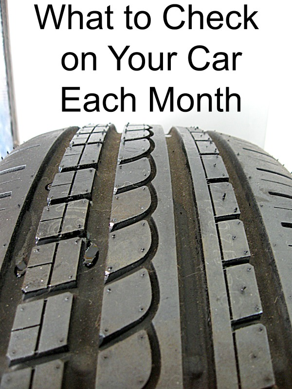 What to Check on Your Car Each Month