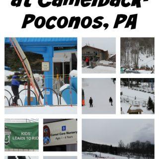 Enjoying Winter at Camelback- Poconos, PA
