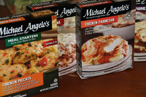 Michael Angelo's Gourmet Foods- varieties