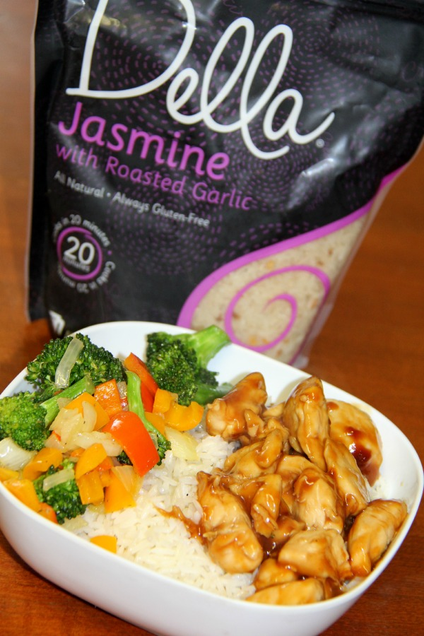 Teriyaki Chicken with Rice and veggies. A great healthy recipe that taste fantastic.