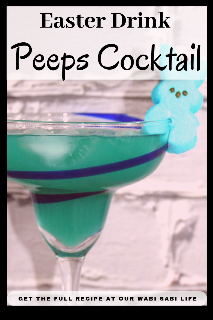 If you are looking for something extra to add to your Easter celebration, try this Peeps Cocktails, Cocktails for Easter