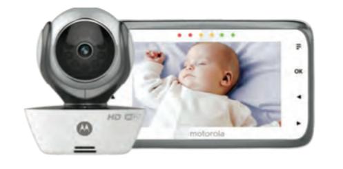 Motorola Wifi Connect Digital Video Baby Monitor MBP854