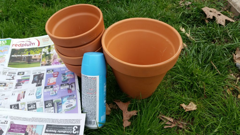 Topsy turvy flower pot crafts garden crafts (3)