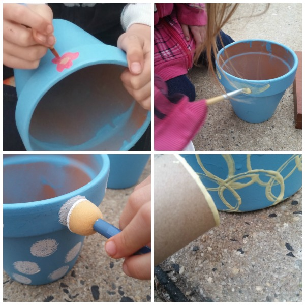 crazy flower pots craft
