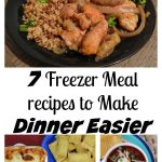 Freezer Cooking Recipes