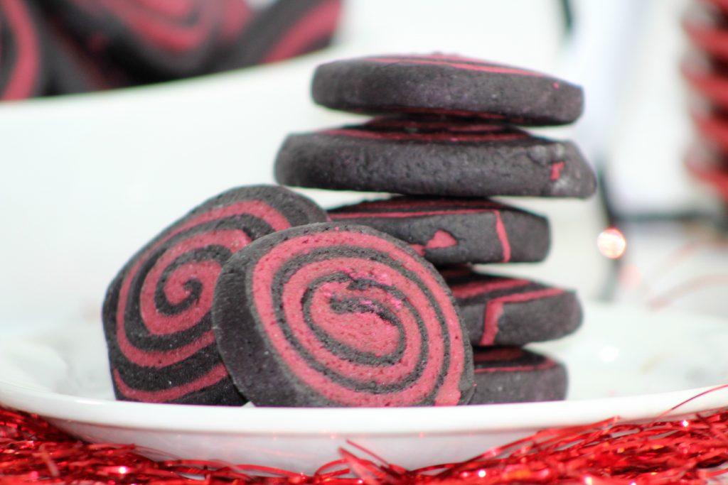 Avenger Pinwheel Cookies