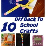 DIY Back To School Crafts
