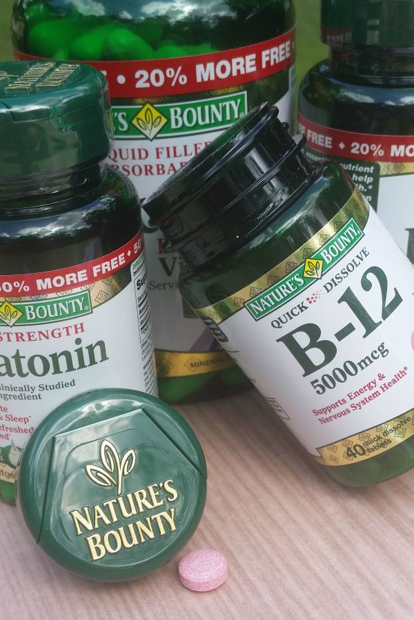 Keeping Up With Back to School Routines During the Week- vitamins