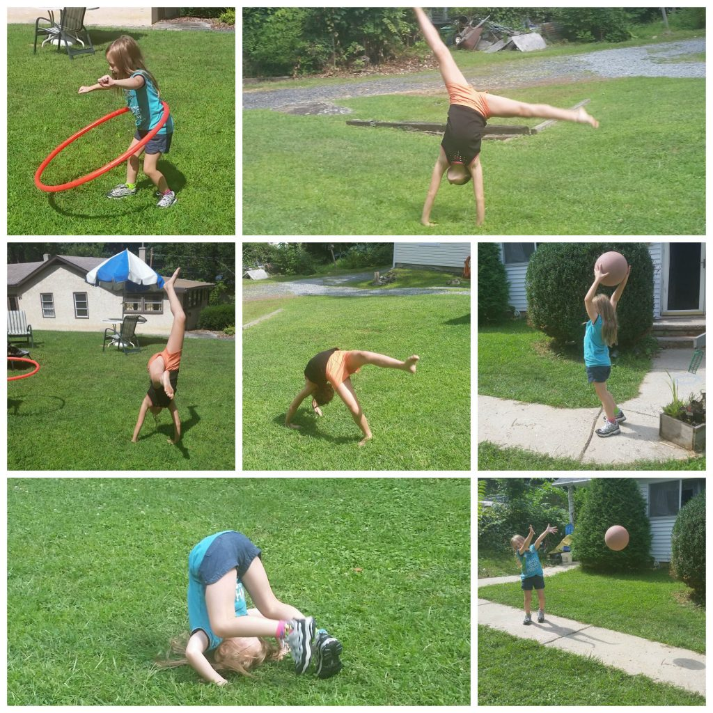ways to stay healthy during back to school- play outside