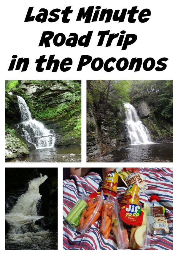 Last minute road trip in the poconos