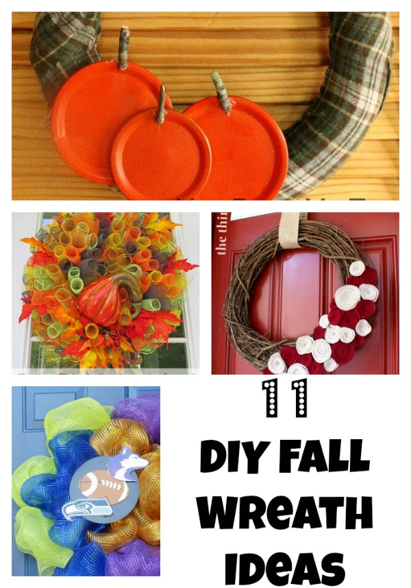 Wreaths add fantastic decor to any room. Here are simple fall wreath ideas.