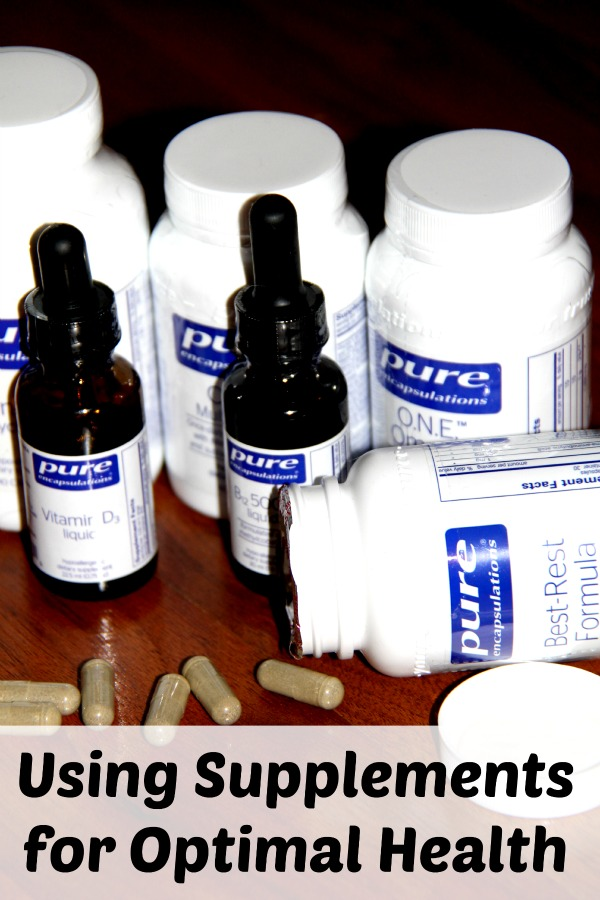 Using Supplements for Optimal Health
