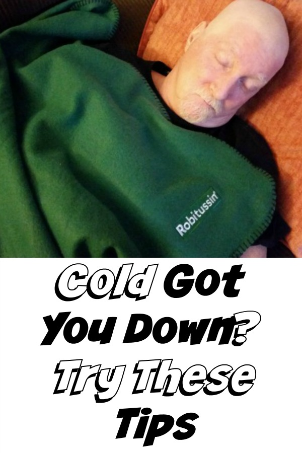 Cold got you down, feel better with Robitussin