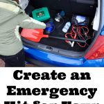 Create an Emergency Kit for Your Car