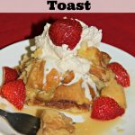 Crockpot Eggnog French Toast with Maple Creme Syrup