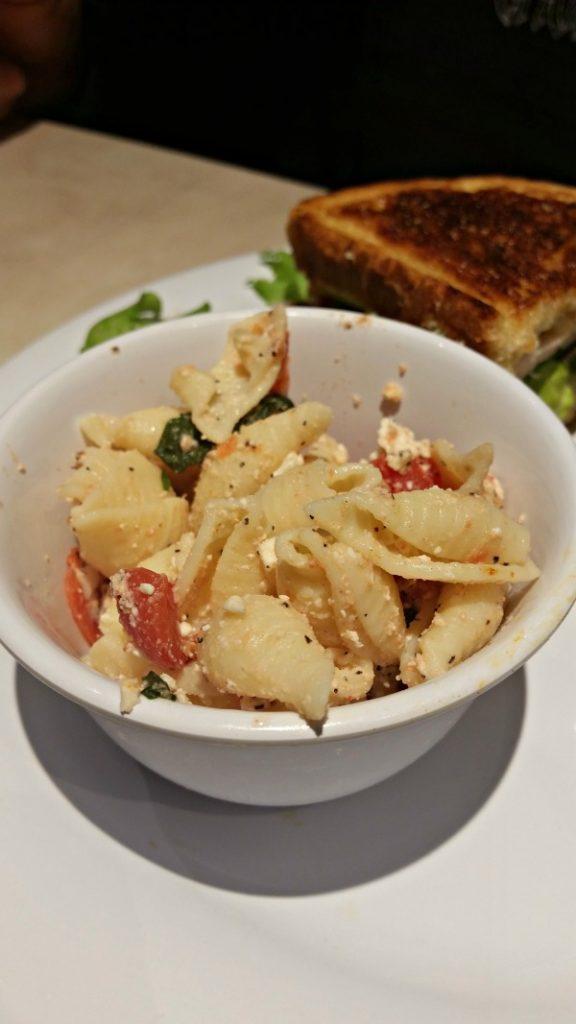 pasta salad from Zoës Kitchen