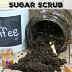 DIY Salted Caramel Coffee Sugar Scrub