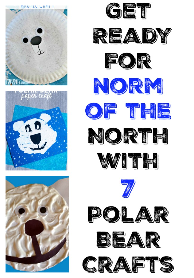 Norm of the North Polar bear crafts #breakthenorm
