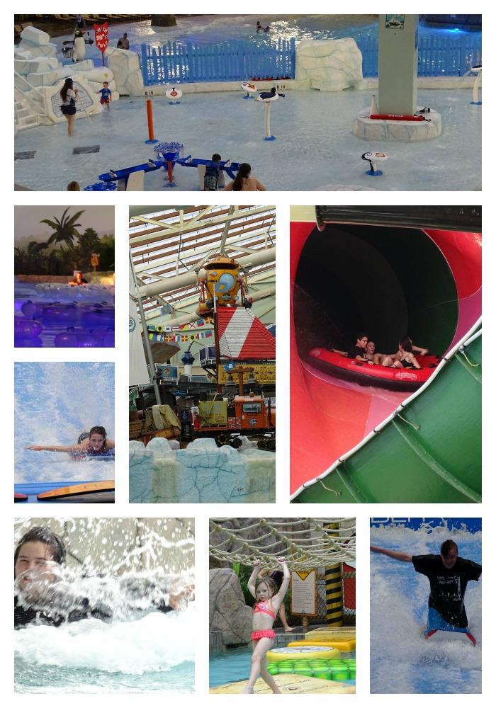 Aquatopia indoor waterpark attractions